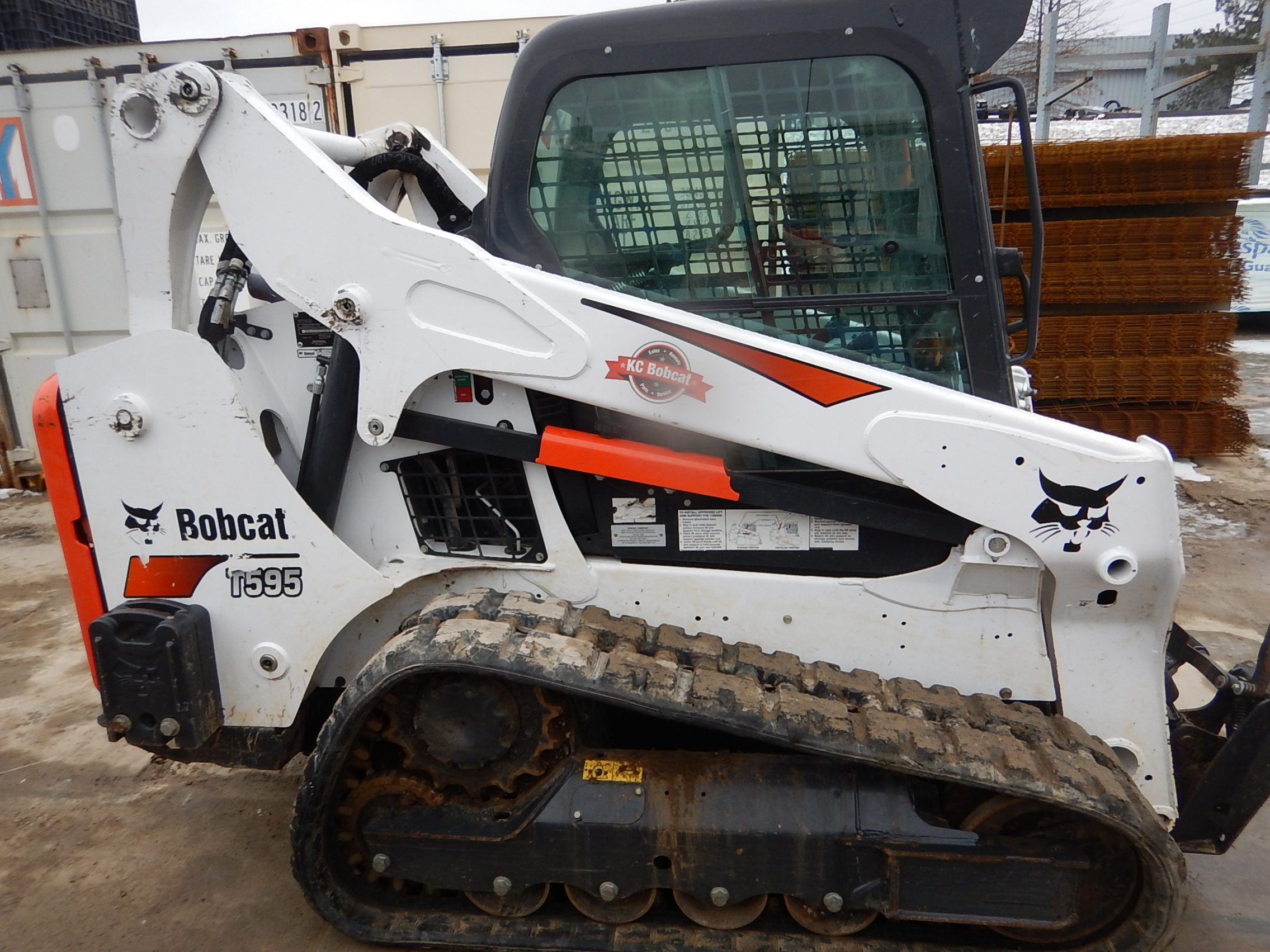 Used 2018 BOBCAT T595 COMPACT TRACK LOADER - For Sale in KS and MO