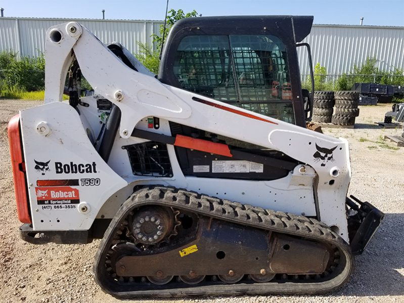 Used BOBCAT T590 COMPACT TRACK LOADER - For Sale in KS and MO - K C